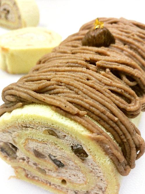 法式栗子卷 Chestnut Roll Cake