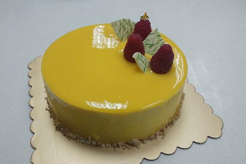 Mango-Passion Fruit Cake