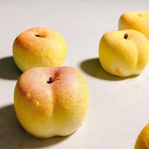 White Peach Cake | 3 pieces