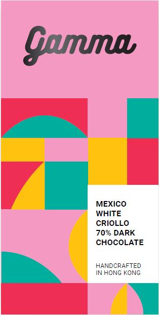 Mexico White Criollo 70% Dark Chocolate - 40g