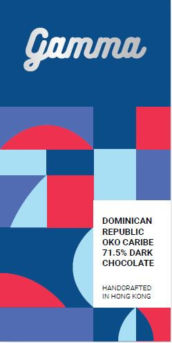 Dominican Republic Öko Caribe 71.5% Dark Chocolate - 40g