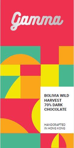Bolivia Wild Harvest 70% Dark Chocolate - 40g