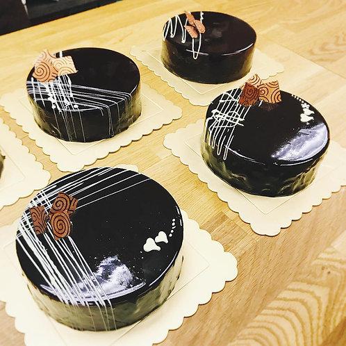 [Baking Class] Dark Truffle Cake