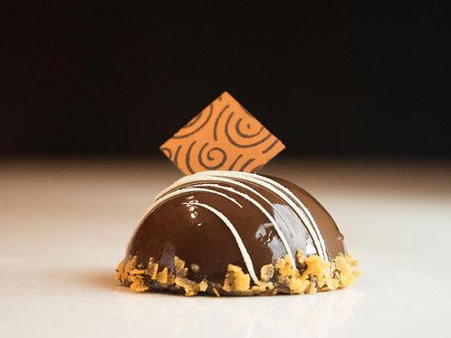 Mini 64% Chocolate Dome | 4 pieces