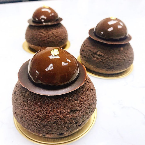 [Baking Class] Chocolate Choux (5 pieces)