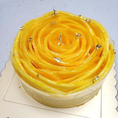 芒果熱情果芒果流心蛋糕/Mango Passion Fruit Lava Cake