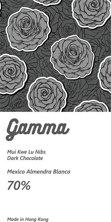 Mui Kwe Lu Nibs - Mexico Almendra Blanca 70% Dark Chocolate