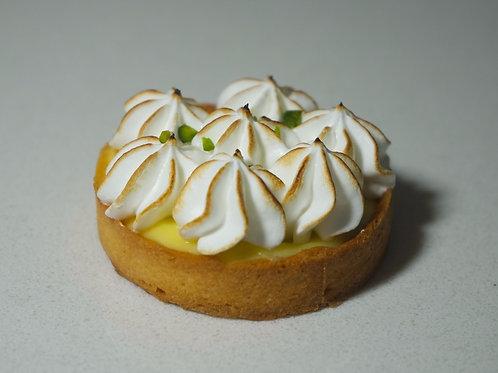 Lemon Meringue Tart | 4 Pieces 7cm