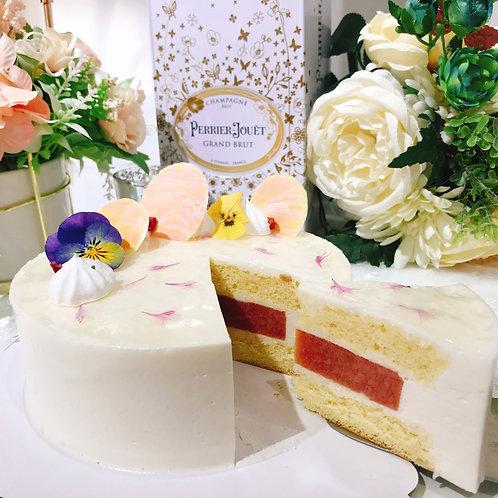 荔枝石榴慕斯蛋糕