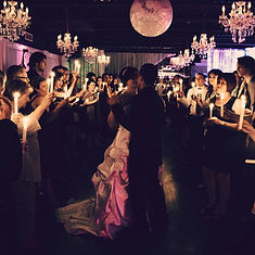 Première danse aux chandelles