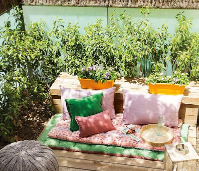 Disfrutá de los últimos días de verano en un jardín lleno de estilo
