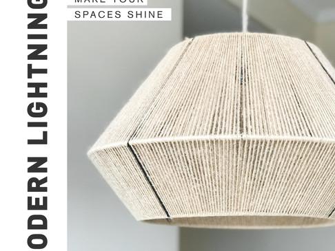 Iluminación: make your spaces shine