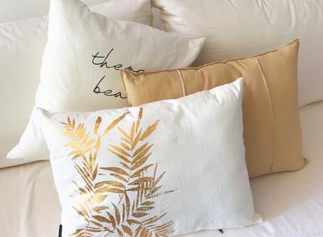 Cuáles almohadones elegir según tu decoración