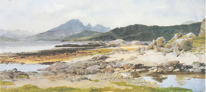 Cuillin from Ord