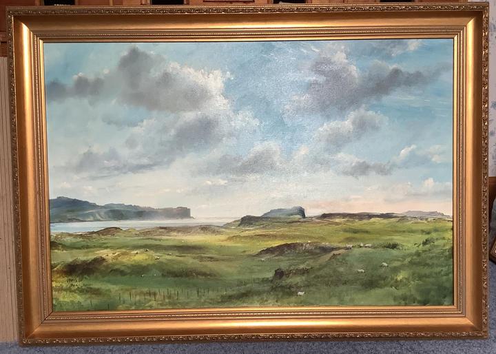 Loch Bracadale, Talisker cliffs and Oronsay