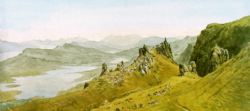 South from the Storr