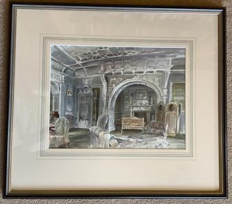 White Drawing Room, Kinloch Castle, Rum