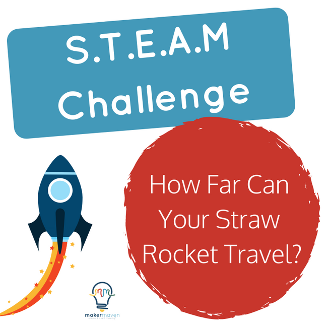 How Far Can Your Straw Rocket Travel?