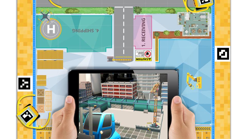 Kai's Clan Automated Warehouse AR VR Adventure Mat