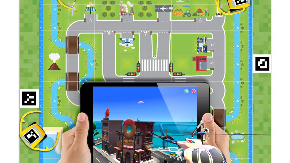 Kai's Clan Smart City AR VR Adventure Mat