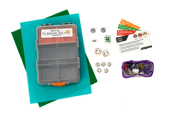 Introducing Crazy Circuits Sewing Starter Kit