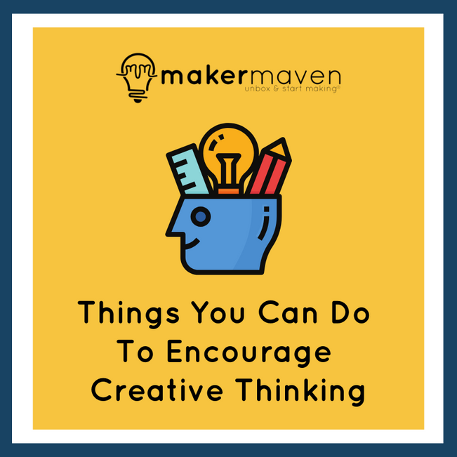 Things You Can Do To Encourage Creative Thinking
