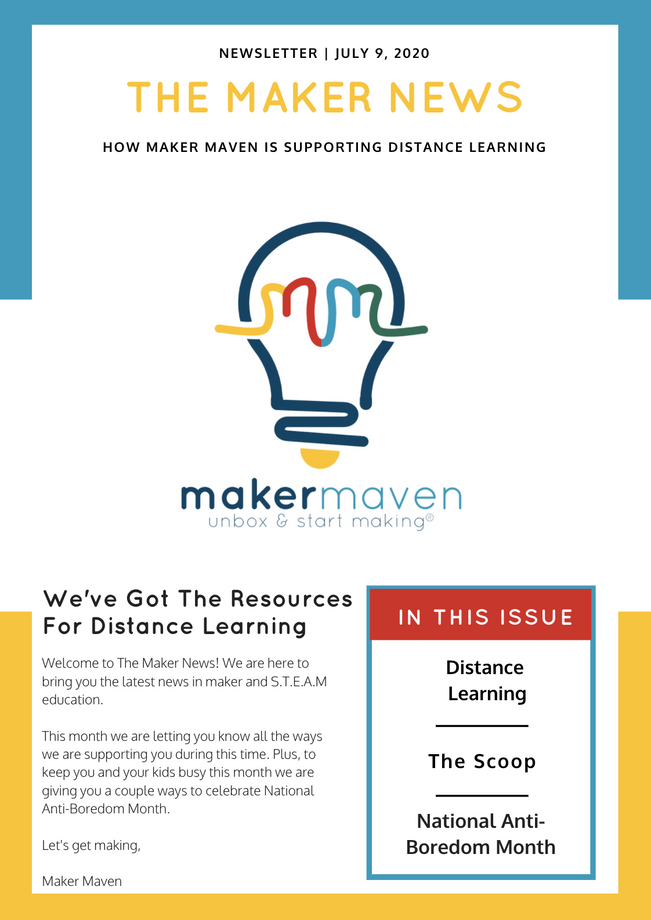 The Maker News: How Maker Maven Is Supporting Distance Learning