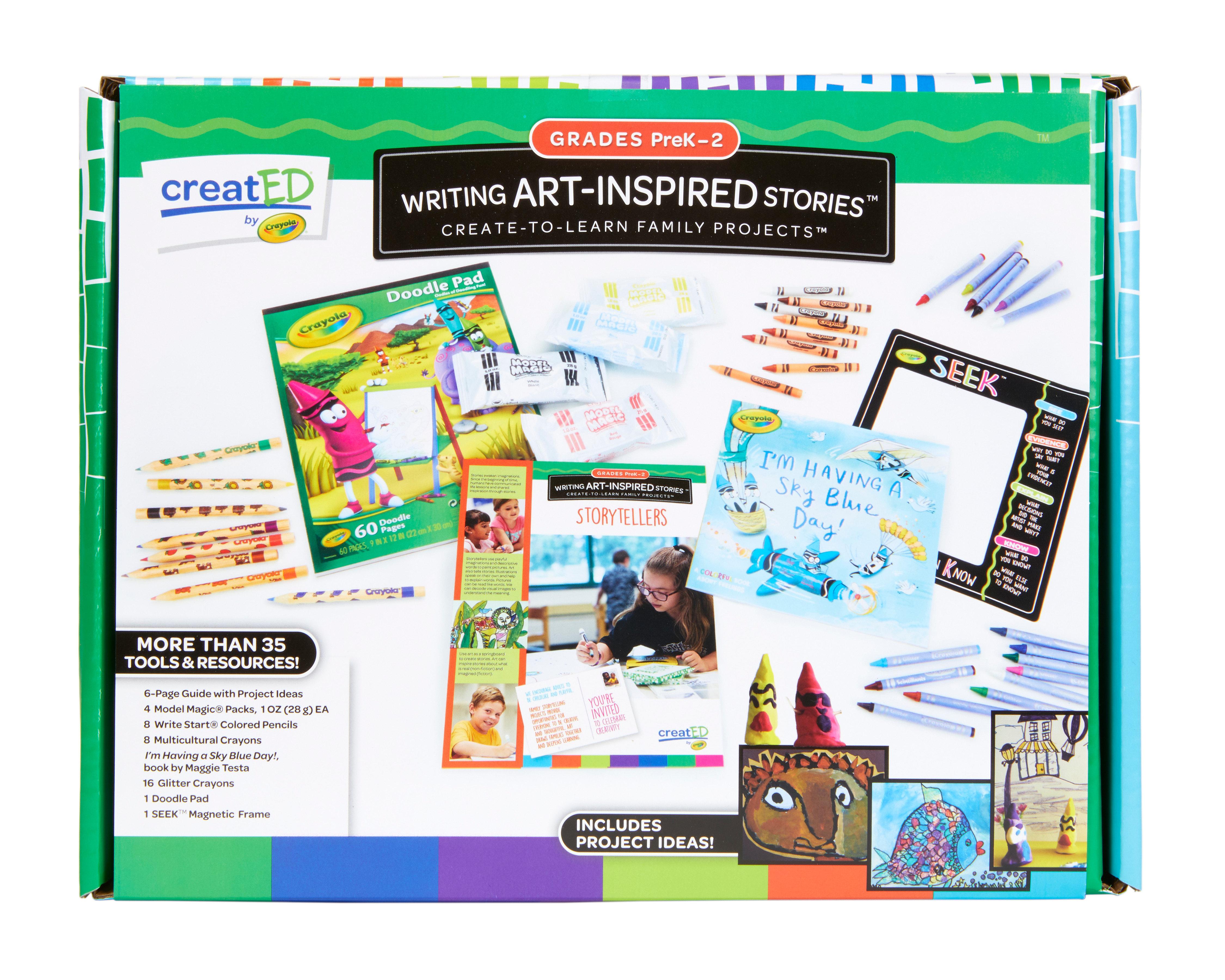 Created Family Engagement Kits Writing Art Inspired Stories Grades Pk 2 30ct Maker Maven