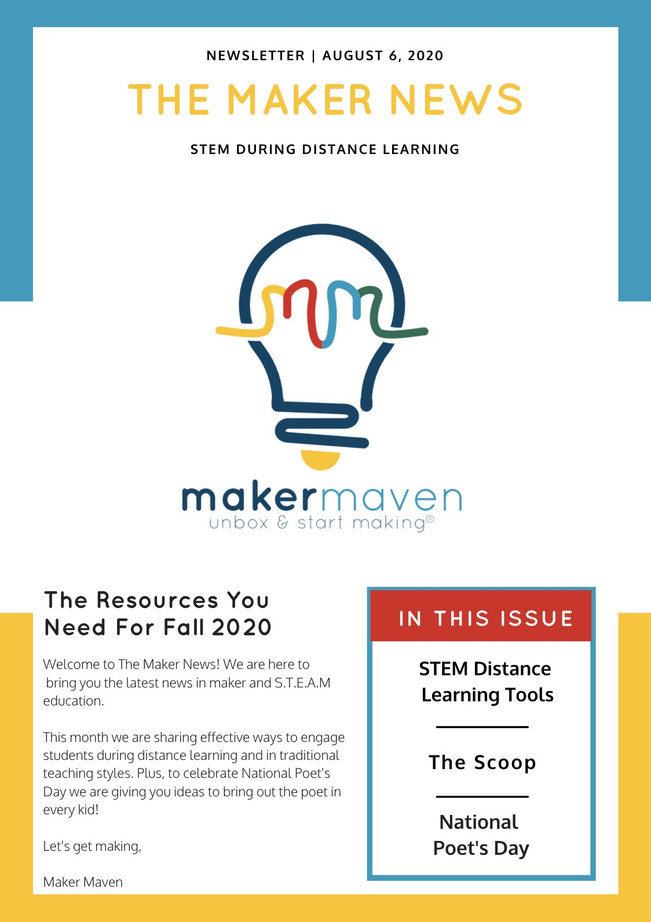 The Maker News: STEM During Distance Learning