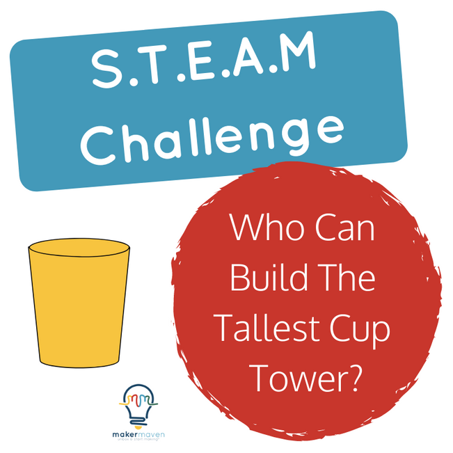 Who Can Build The Tallest Cup Tower?
