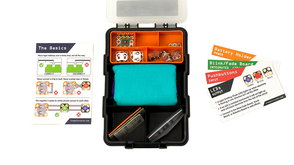 Crazy Circuits Sewing Starter Kit