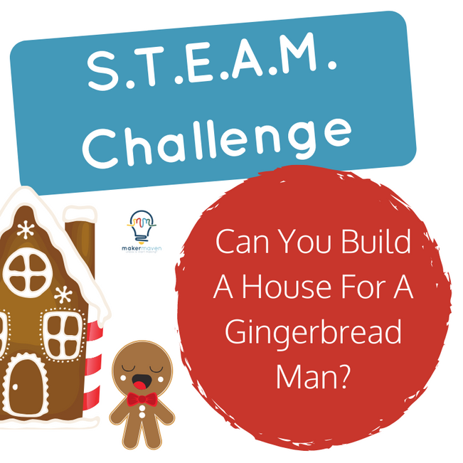 Can You Build A House For A Gingerbread Man?