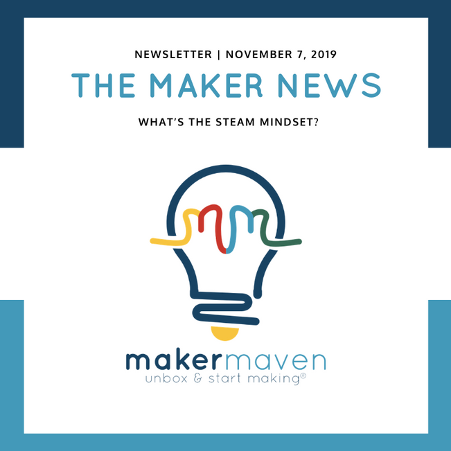 The Maker News: What's The STEAM Mindset?