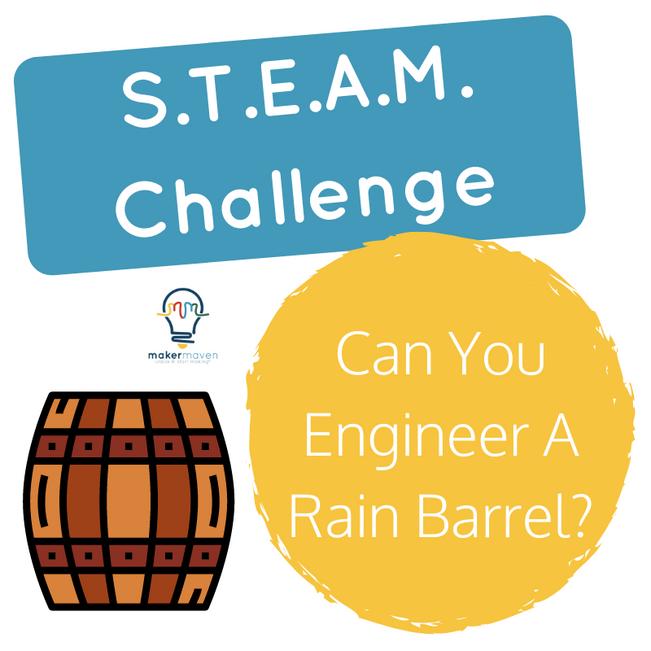 Can You Engineer A Rain Barrel?
