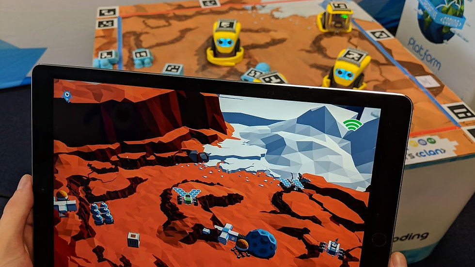 Kai's Clan Mars Discovery AR VR Adventure Mat