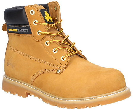 Honey Steel Safety Boot