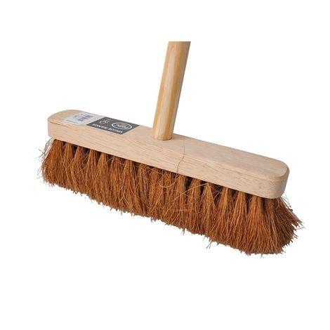 "Soft Wooden Broom 12"""