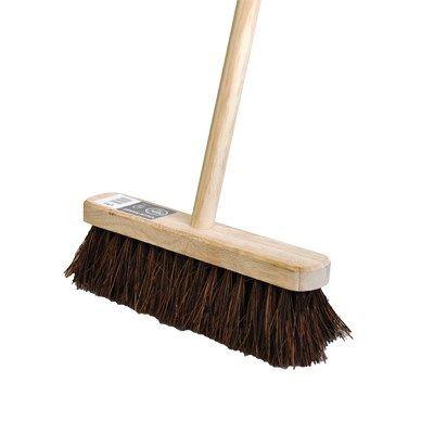 "Stiff Wooden Broom 12"""