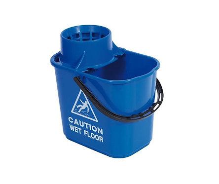 Mop Bucket & Wringer Blue