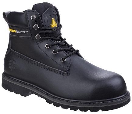 Black Steel Safety Boot