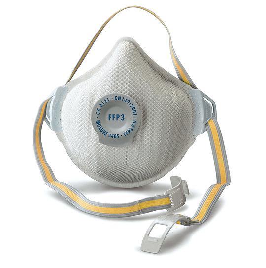 Moldex 3405 FFP3 Air Plus Valved Respirator (Box of 5)
