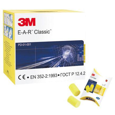 3M EAR Classic Foam Ear Plugs (250)