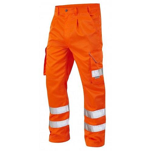 Orange Hi Vis Cargo Trousers