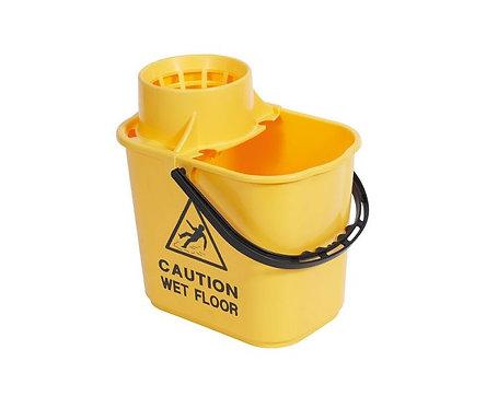 Mop Bucket & Wringer Yellow