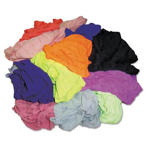 Coloured Cotton T-Shirt Rags 10KG