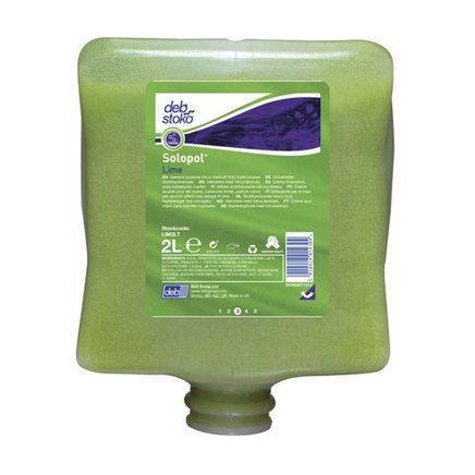 DEB Solopol Lime Medium-Heavy Duty Hand Cleanser 2L