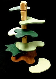 Eric Hoffman wooden toys tree house