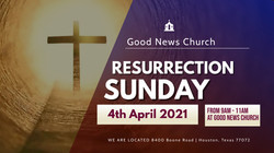 Copy of RESURRECTION SUNDAY church flyer