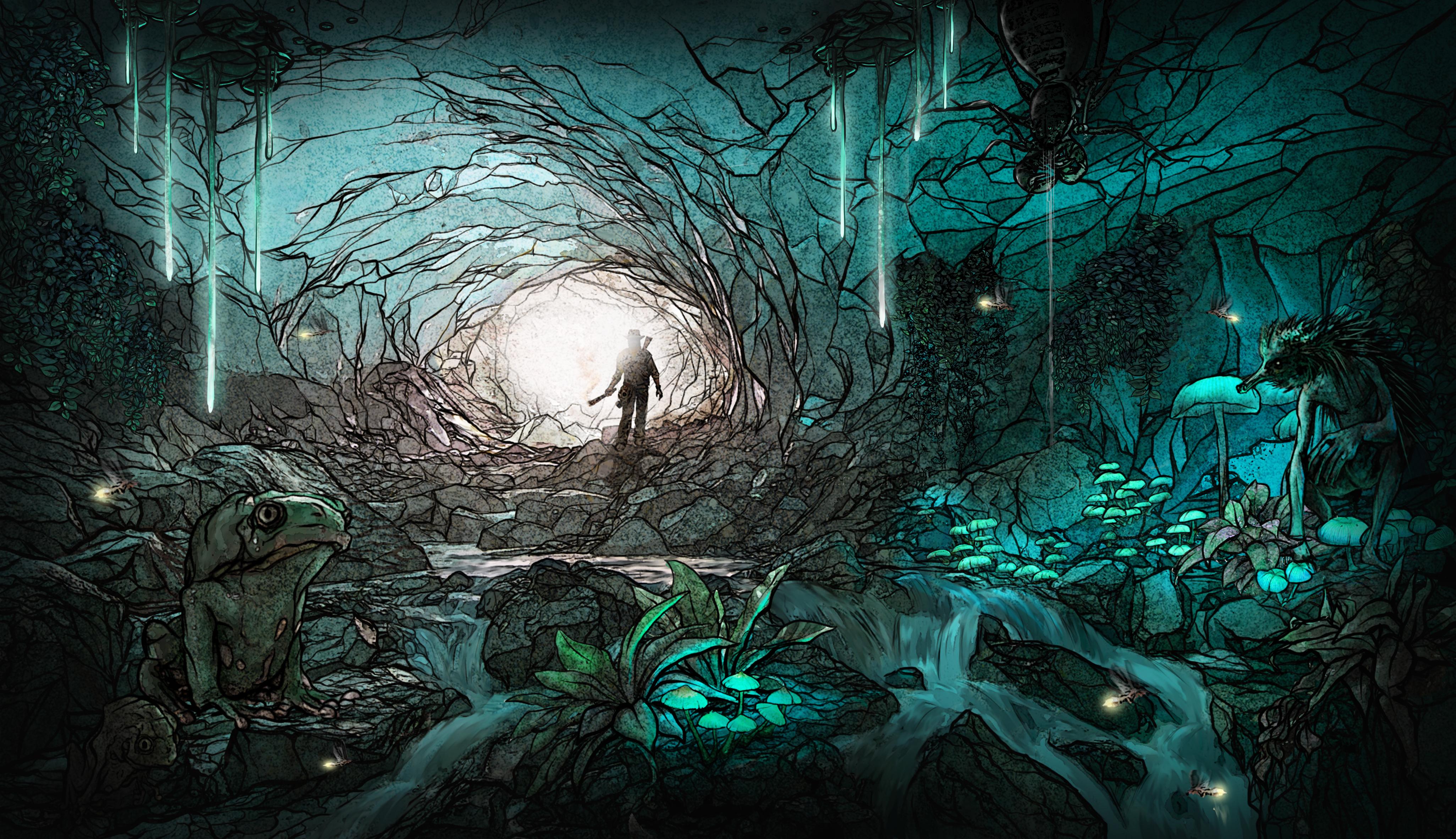 The Stranger - Cave