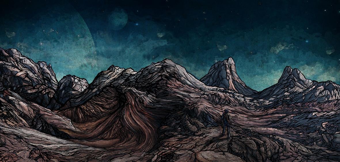 The Stranger - Landscape 1